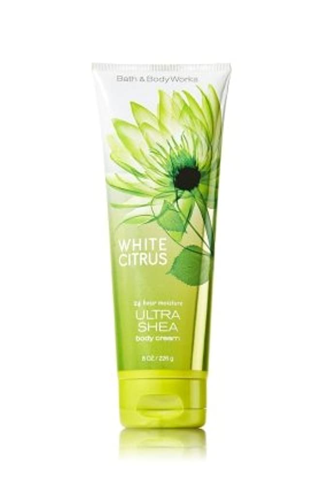 土寝る批評バス&ボディワークス ホワイトシトラス ボディクリーム  White Citrus Body Cream [並行輸入品]
