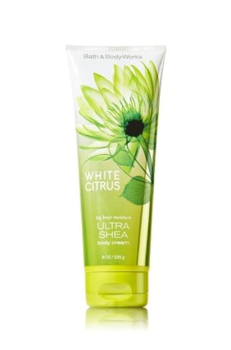 スタンド遅い戸惑うバス&ボディワークス ホワイトシトラス ボディクリーム  White Citrus Body Cream [並行輸入品]