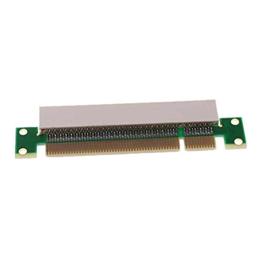 舗装毎回レモンH HILABEE Pciオス→メスアダプタカード 32ビット 垂直カード PCI拡張アダプタ