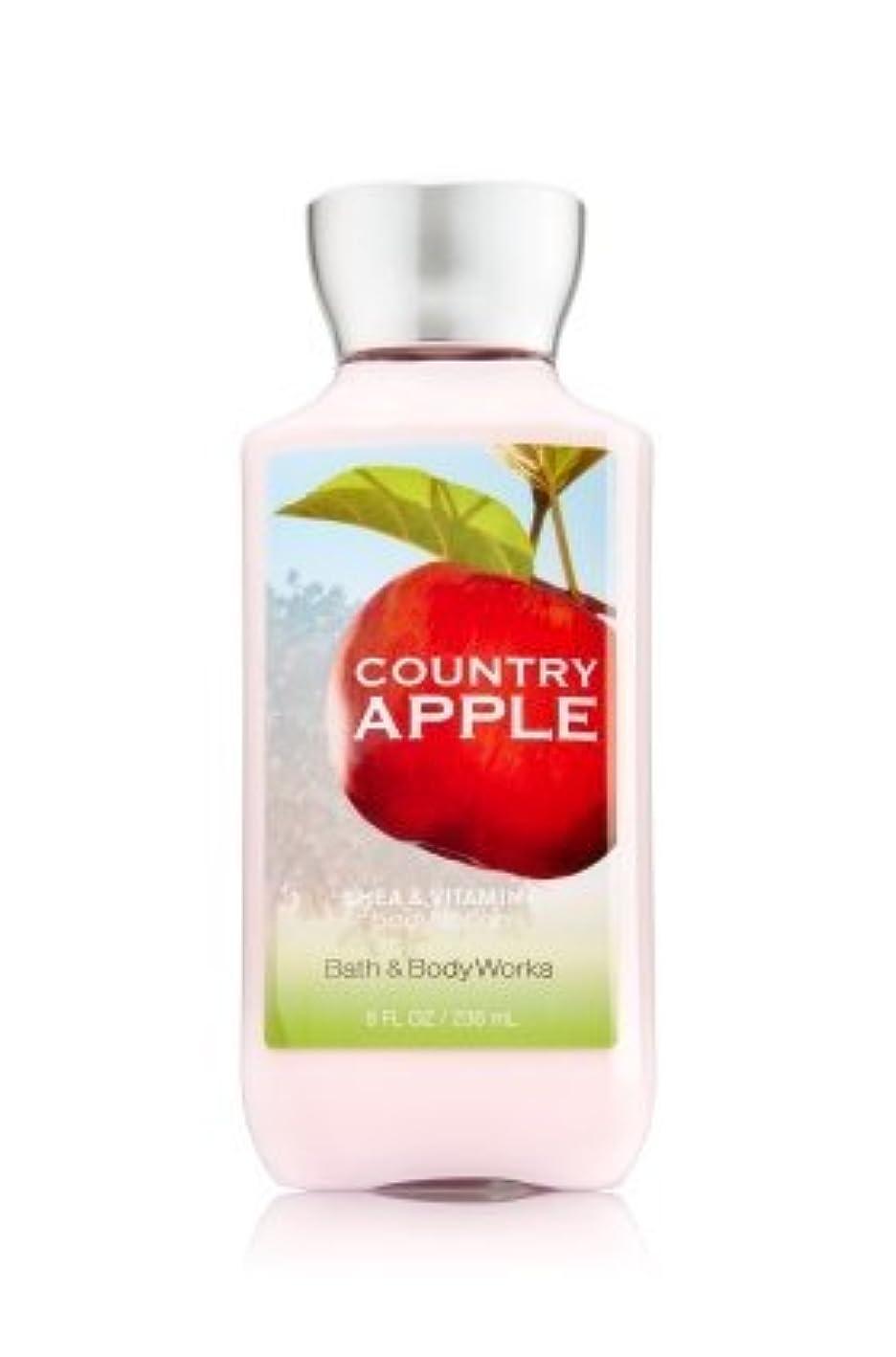 料理をする厄介な泣いている【Bath&Body Works/バス&ボディワークス】 ボディローション カントリーアップル Body Lotion Country Apple 8 fl oz / 236 mL [並行輸入品]