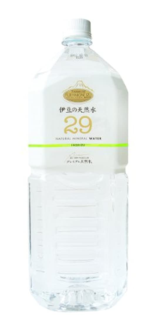 ともっともらしいアデレード伊豆の天然水29 2L×6本