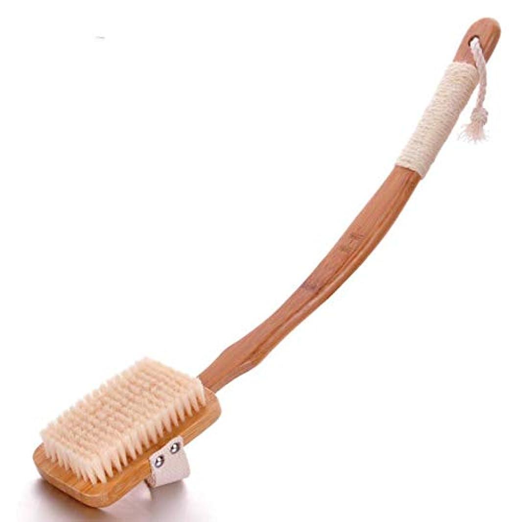 皮膚の健康と美しさを改善するシャワーボディブラシは、死んだ皮膚や毒素、セルライトの治療、剥離、血液循環を刺激する