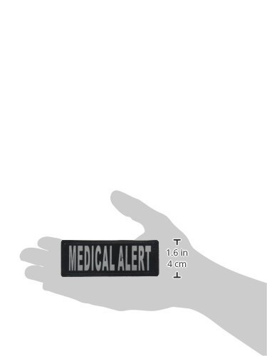 High Quality Medical Alert Removable Patches, Small/Medium