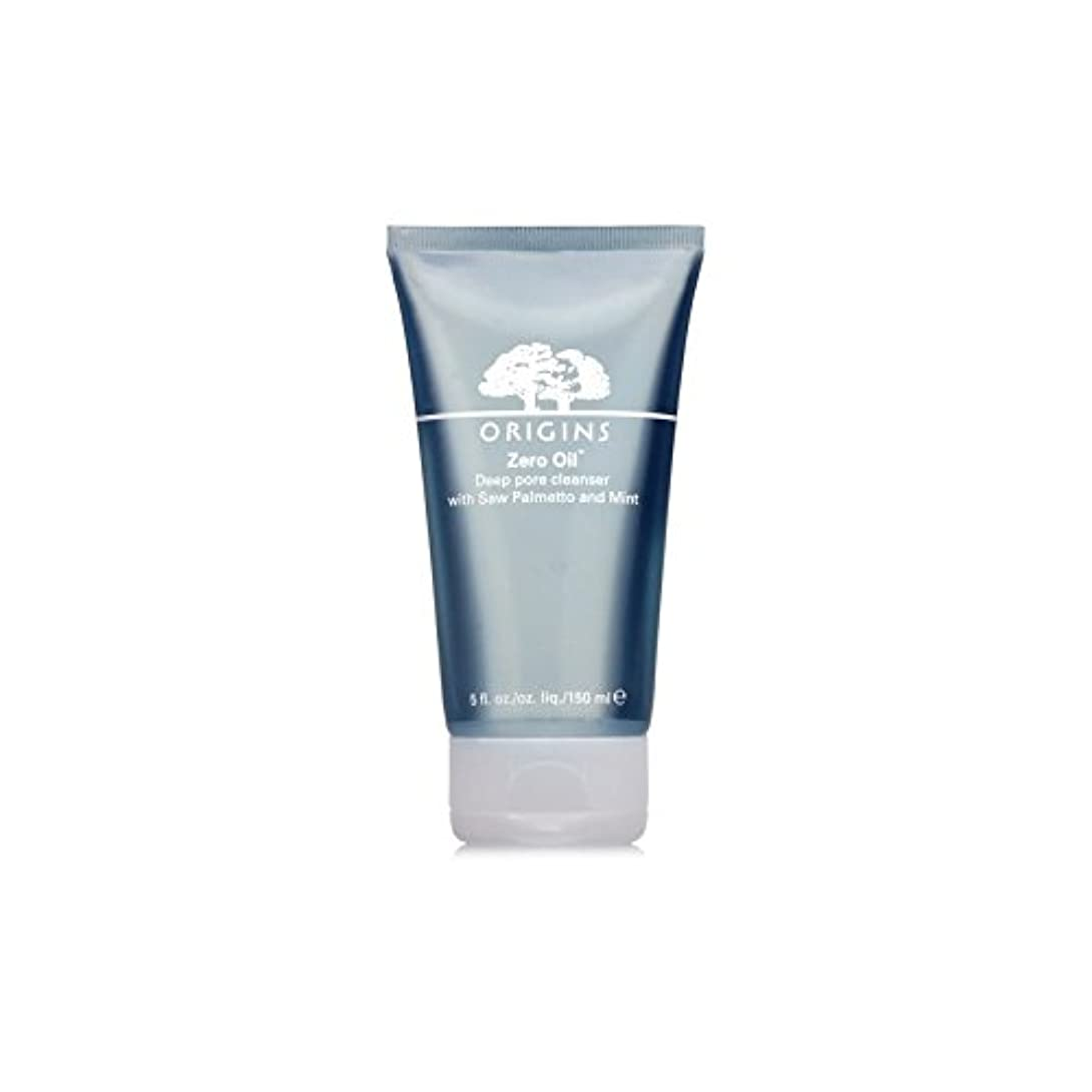 やがてお手伝いさんひねりOrigins Zero Oil Deep Pore Cleanser With Saw Palmetto & Mint 150ml (Pack of 6) - ノコギリヤシ&ミント150ミリリットルとの起源ゼロ油深いポアクレンザー...