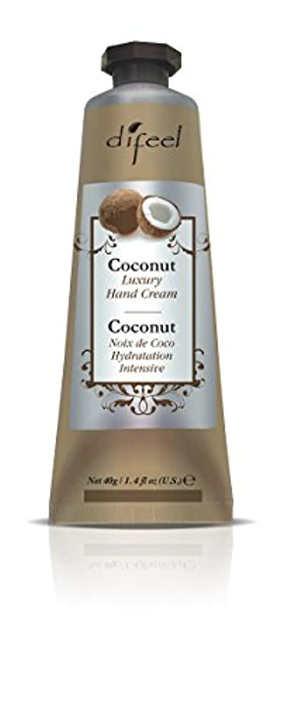 端調子ワードローブDifeel(ディフィール) ココナッツ ナチュラル ハンドクリーム 40g COCONUT 11COCn New York