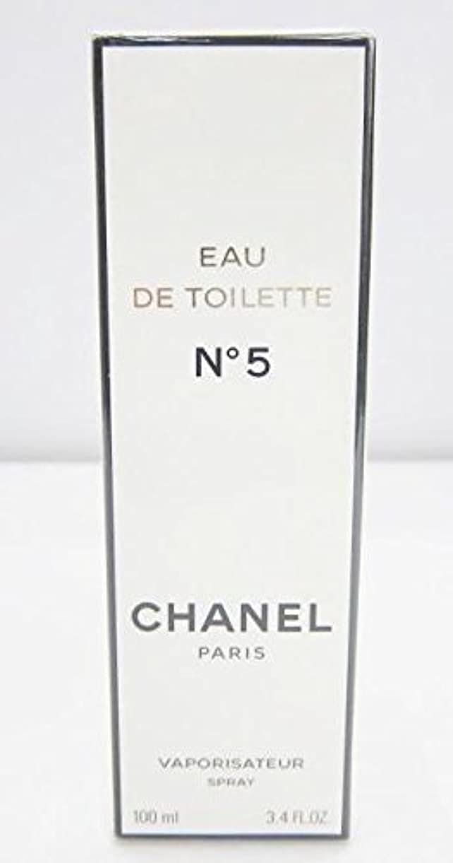 バラ色満足させるミニチュアシャネル(CHANEL) No5 EDT SP 100ml[並行輸入品]