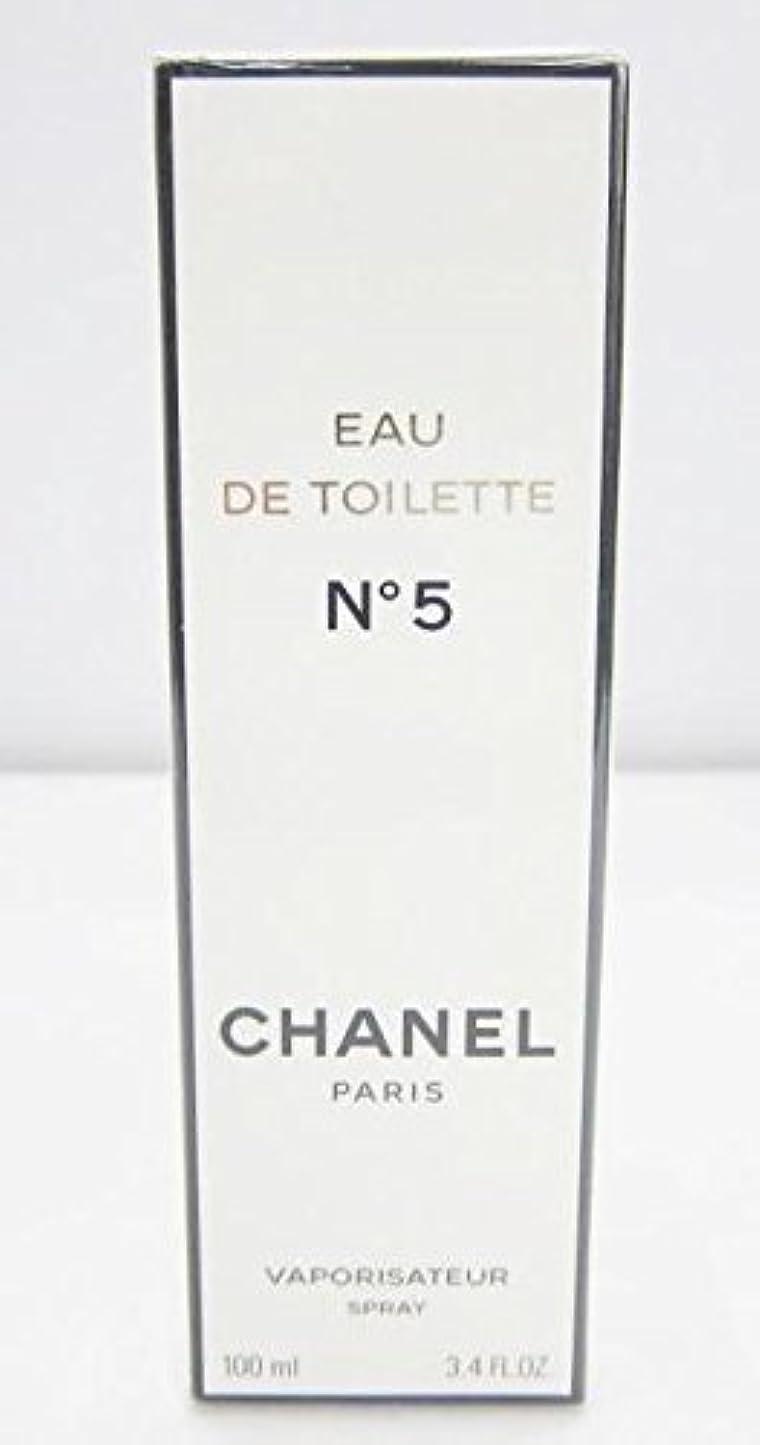リットルチョップセントシャネル(CHANEL) No5 EDT SP 100ml[並行輸入品]