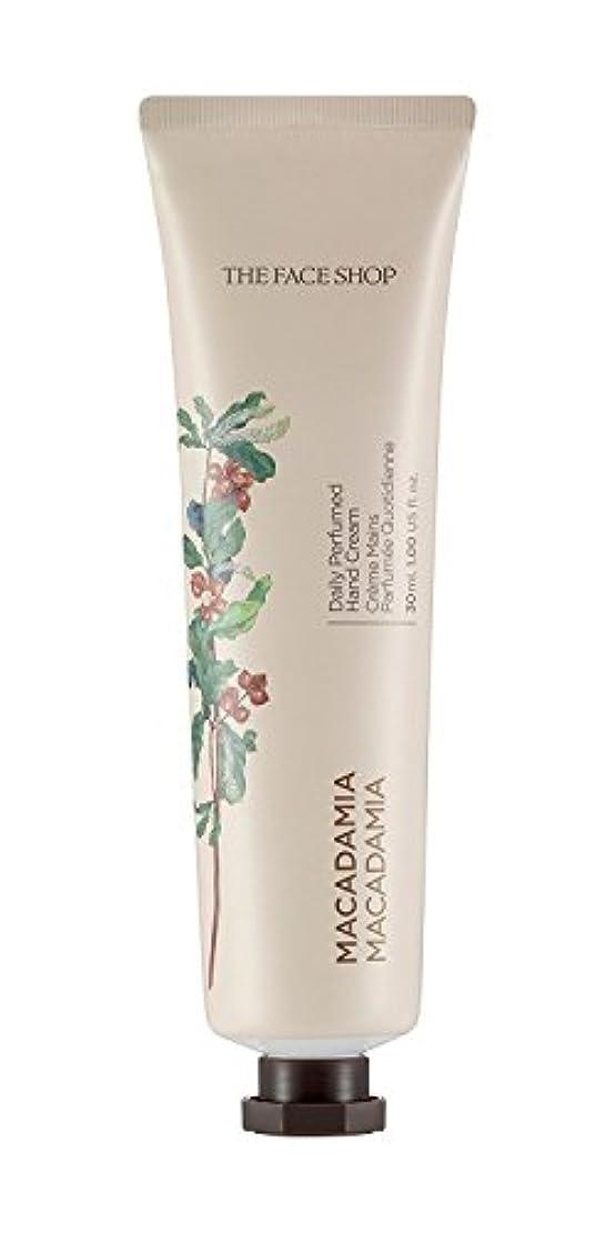 最小化する生産的ネズミTHE FACE SHOP Daily Perfume Hand Cream [07. Macadamia] ザフェイスショップ デイリーパフュームハンドクリーム [07.マカダミア] [new] [並行輸入品]