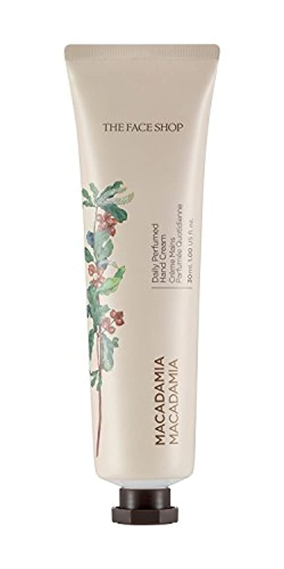 耳適格降伏THE FACE SHOP Daily Perfume Hand Cream [07. Macadamia] ザフェイスショップ デイリーパフュームハンドクリーム [07.マカダミア] [new] [並行輸入品]