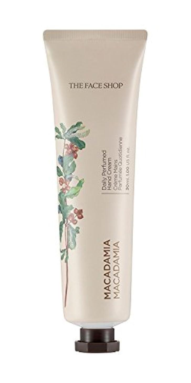 小康効率的サロンTHE FACE SHOP Daily Perfume Hand Cream [07. Macadamia] ザフェイスショップ デイリーパフュームハンドクリーム [07.マカダミア] [new] [並行輸入品]