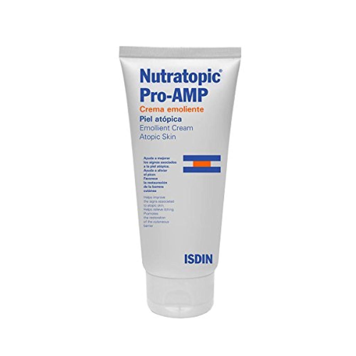 刺激するきょうだいバングラデシュIsdin Nutratopic Emollient Cream 200ml [並行輸入品]