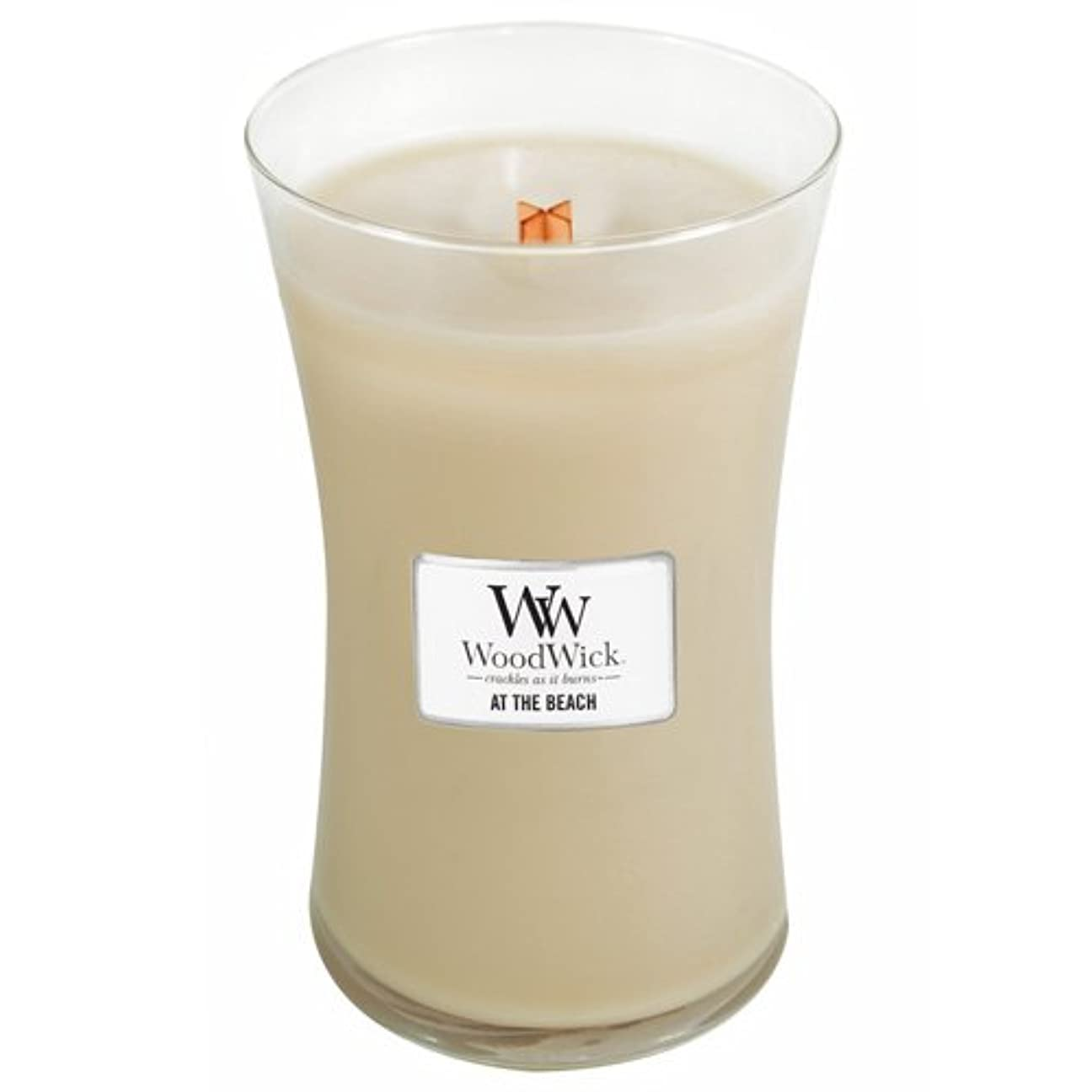 楽しむ証言開示するWoodWick Candle At The Beach 22oz by Woodwick