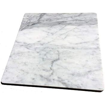 イタリアの大理石 40cm×40cm×1.2cm ひんやり気持ちいいペットマット(クールペットベッド)!ビアンコカララ 表面磨き仕上げ