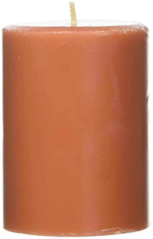 ブッシュロケット軌道Northern Lights Candles Roasted Pumpkin FragranceパレットPillar Candle、3 x 4