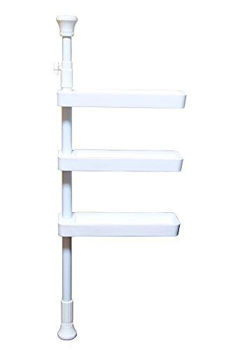 [해외]편리한 당김 스파이스 랙 3 단 주방 선반 양념 랙/Convenient tightening Spice rack 3 steps Kitchen storage shelf Seasoning rack