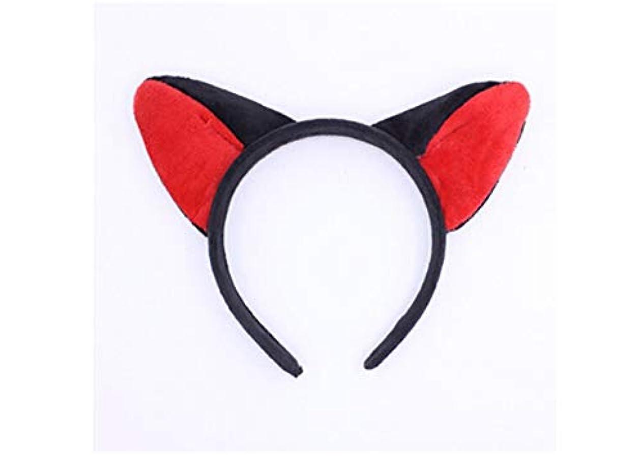 ウガンダ考案するひねくれたMINGTAI ヘッドバンド帽子甘い洗濯ヘアバンドヘアピンかわいいおかしい耳カチューシャ (Color : 10)