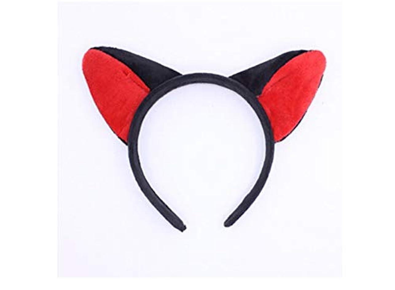 タバコ同情的北西MINGTAI ヘッドバンド帽子甘い洗濯ヘアバンドヘアピンかわいいおかしい耳カチューシャ (Color : 10)