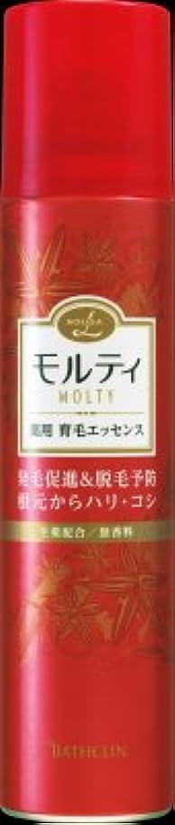 窒素受動的摘むバスクリン モウガ L モルティ薬用育毛エッセンス 130g 医薬部外品 MOUGA MOLTY×24点セット (4548514515413)