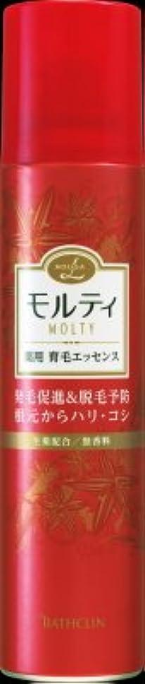 あたたかい放送空気バスクリン モウガ L モルティ薬用育毛エッセンス 130g 医薬部外品 MOUGA MOLTY×24点セット (4548514515413)
