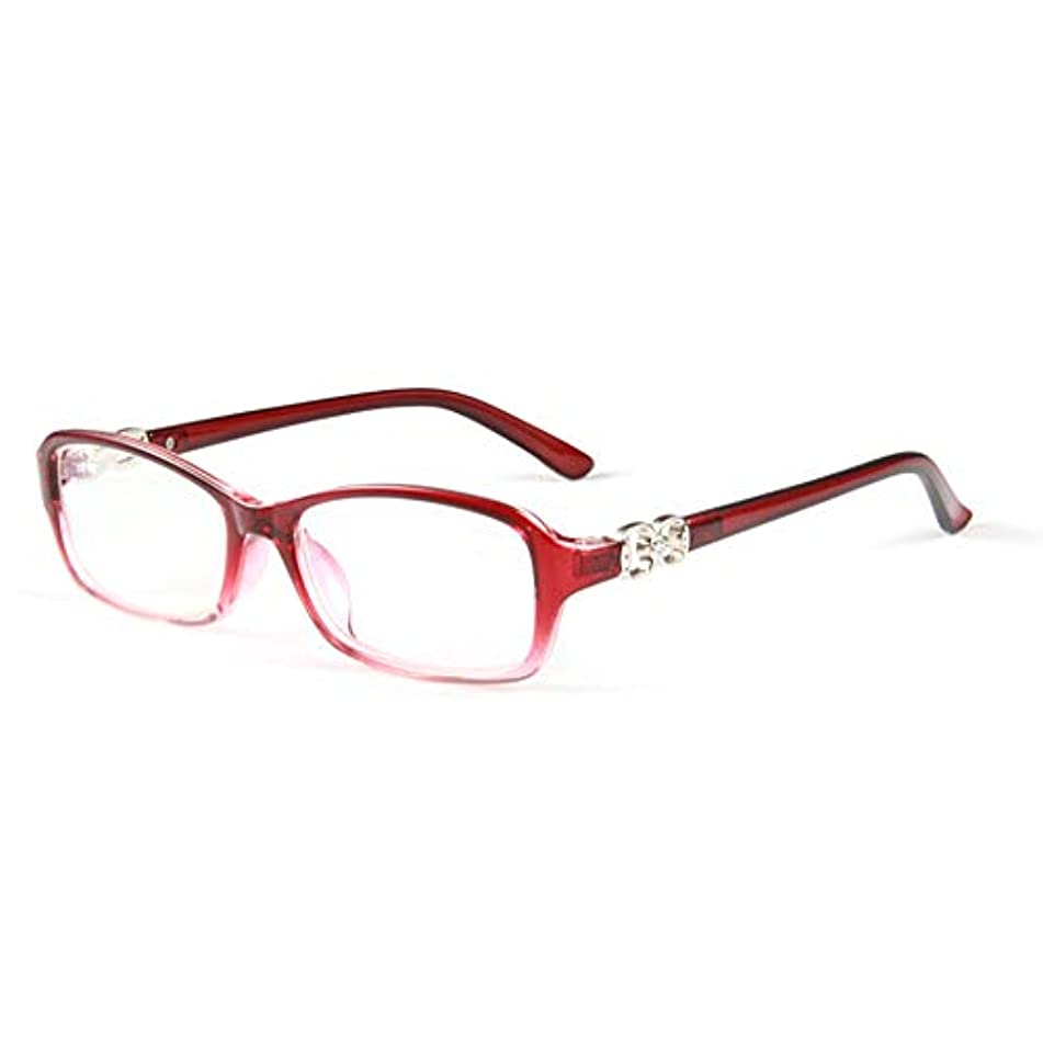 接ぎ木高価なスモッグ超軽量老眼鏡、スタイリッシュなアンチブルー老眼鏡、女性用の快適な遠視メガネ、Hd樹脂レンズ、疲労防止および放射線防護