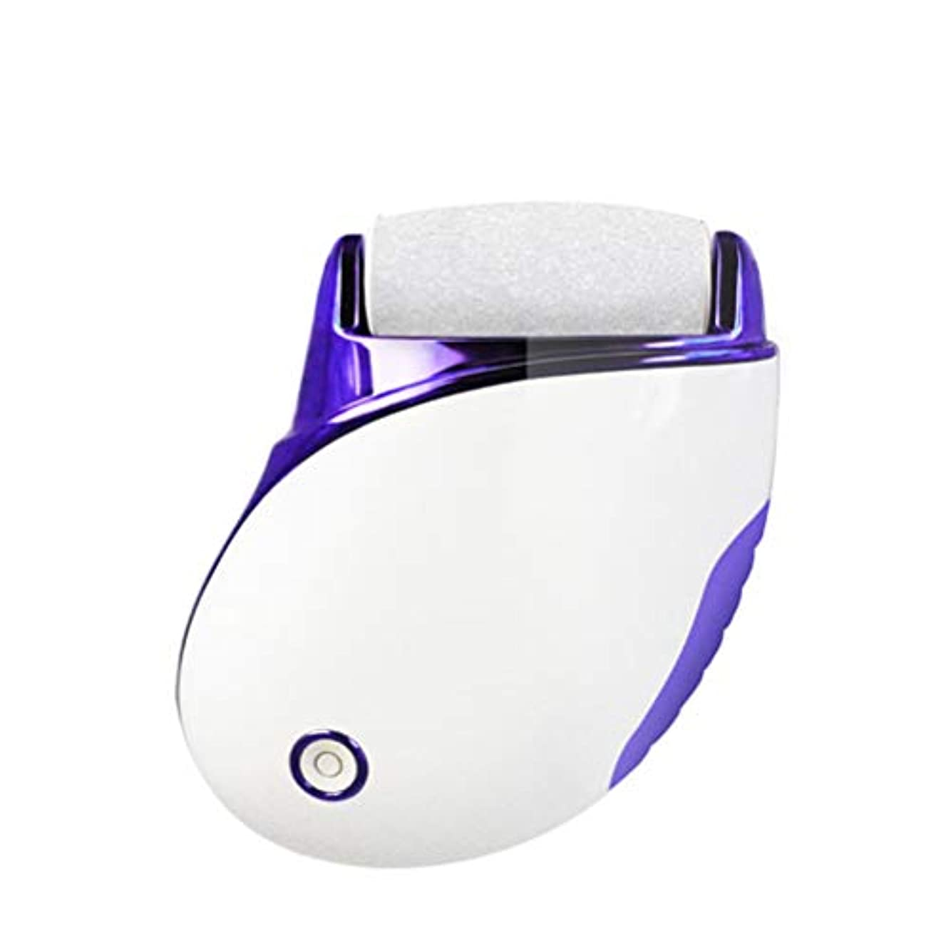 誘惑するアシスタント服を洗う電動ハードスキンリムーバー、充電式、ペディキュアツール、角質を減らす、プロ用フットファイル、のための、デッドスキン、ドライデッド、ひびの入った足, pansy