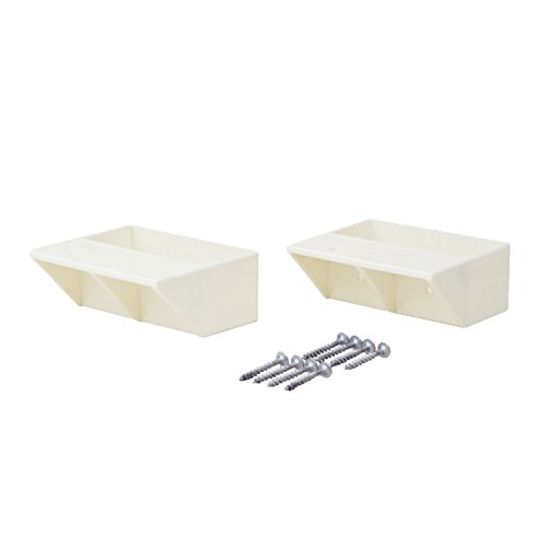 平安伸銅工業 LABRICO  DIY収納パーツ 2×4棚受シングル オフホワイト DXO-2