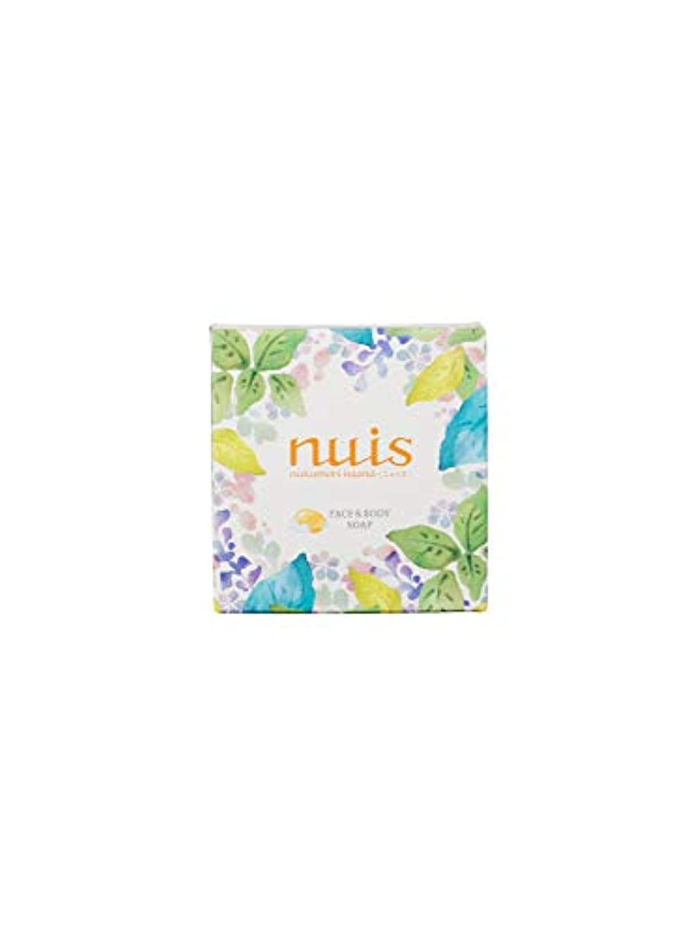 自治的夫強打nuis(ニュイス) nuis ぬくもりアイランド フェイス&ボディソープ 石鹸 100g
