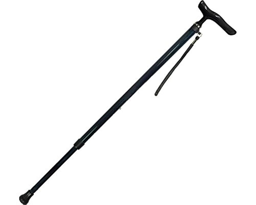 エイズトランスペアレントファーザーファージュオールカーボン伸縮ステッキSP カーボン柄NB 44C-4 (島製作所) (杖?ステッキ)