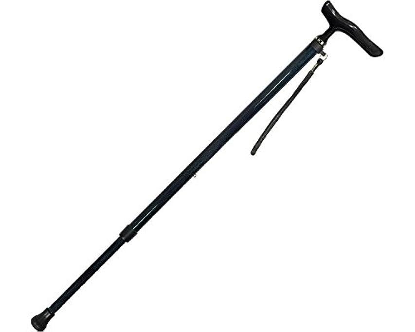 司書ラフト白鳥オールカーボン伸縮ステッキSP カーボン柄NB 44C-4 (島製作所) (杖?ステッキ)