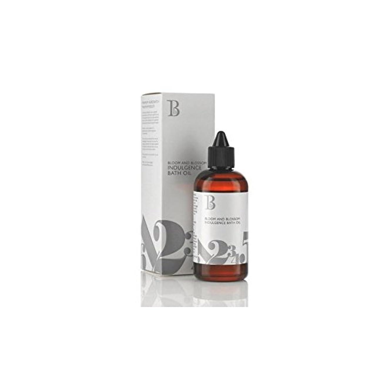 フェード水っぽい酒Bloom and Blossom Indulgence Bath Oil (100ml) (Pack of 6) - ブルーム、ブロッサム耽溺バスオイル(100ミリリットル) x6 [並行輸入品]
