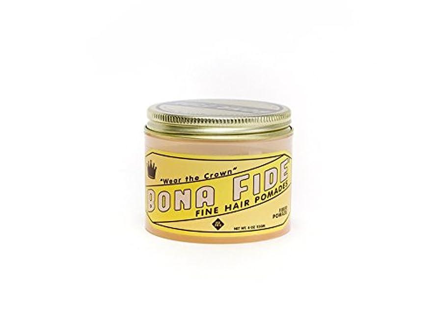意気込み入札れんがBona Fide Pomade, ファイバーポマード 4oz (113g) , 水性ポマード/ヘアグリース (整髪料)