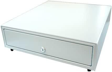 ビジコム 手動式 キャッシュドロア 小型 白 3札/6硬貨 日本製 BC-415HP-W(6C)