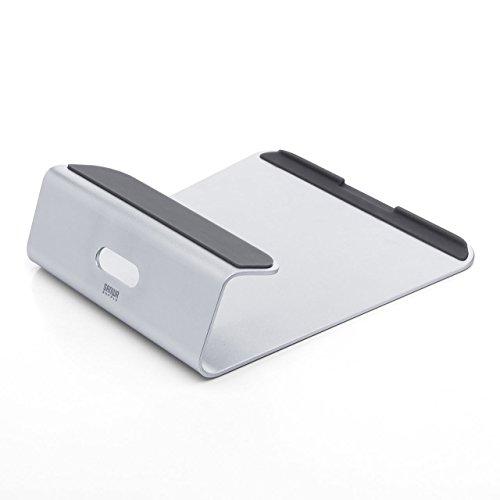 サンワダイレクト ノートパソコンスタンド 11~15.6インチ アルミ PCスタンド iPad / タブレット 対応 200-STN024S