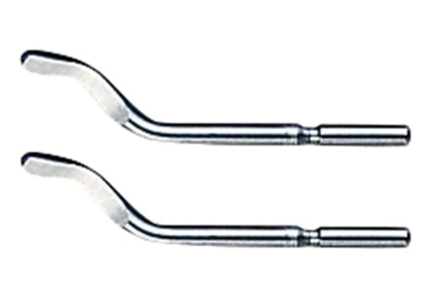 補体高さによってホーザン(HOZAN) プラスチック用替刃 銀色/両刃 2本入 適応:K-35 K-35-2