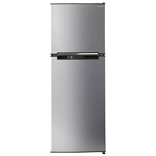 エスキュービズム 2ドア冷蔵庫 WR-2138SL シルバーヘアライン 138L WR-2138SL