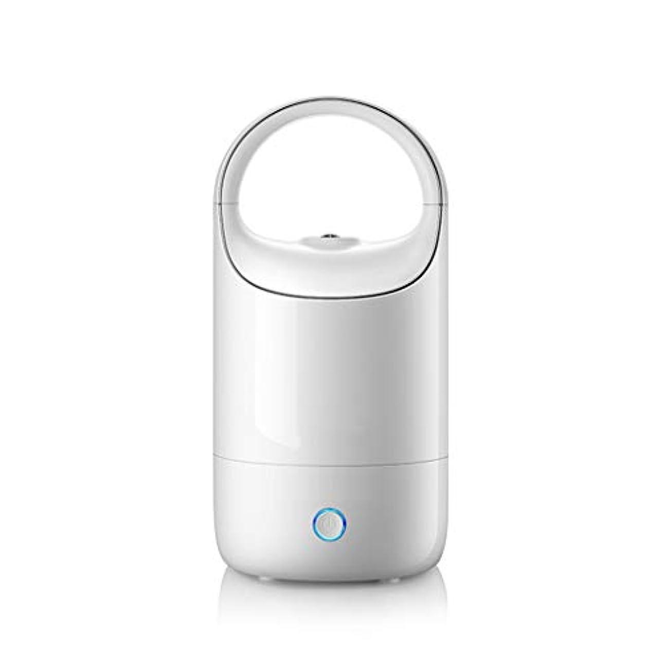 はっきりしないの配列くしゃみ空気加湿器ホームサイレント寝室妊婦赤ちゃん空気霧大容量ディフューザー (Color : White)