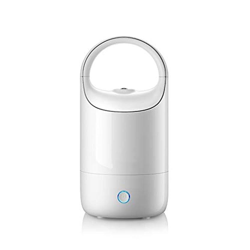 テレビ局床を掃除する摩擦空気加湿器ホームサイレント寝室妊婦赤ちゃん空気霧大容量ディフューザー (Color : White)