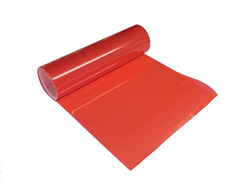 AUTOMAX izumi ヘッドライトフィルム(A4)赤■30×20cmレッド/ レンズ/スモーク/テール/ウインカー
