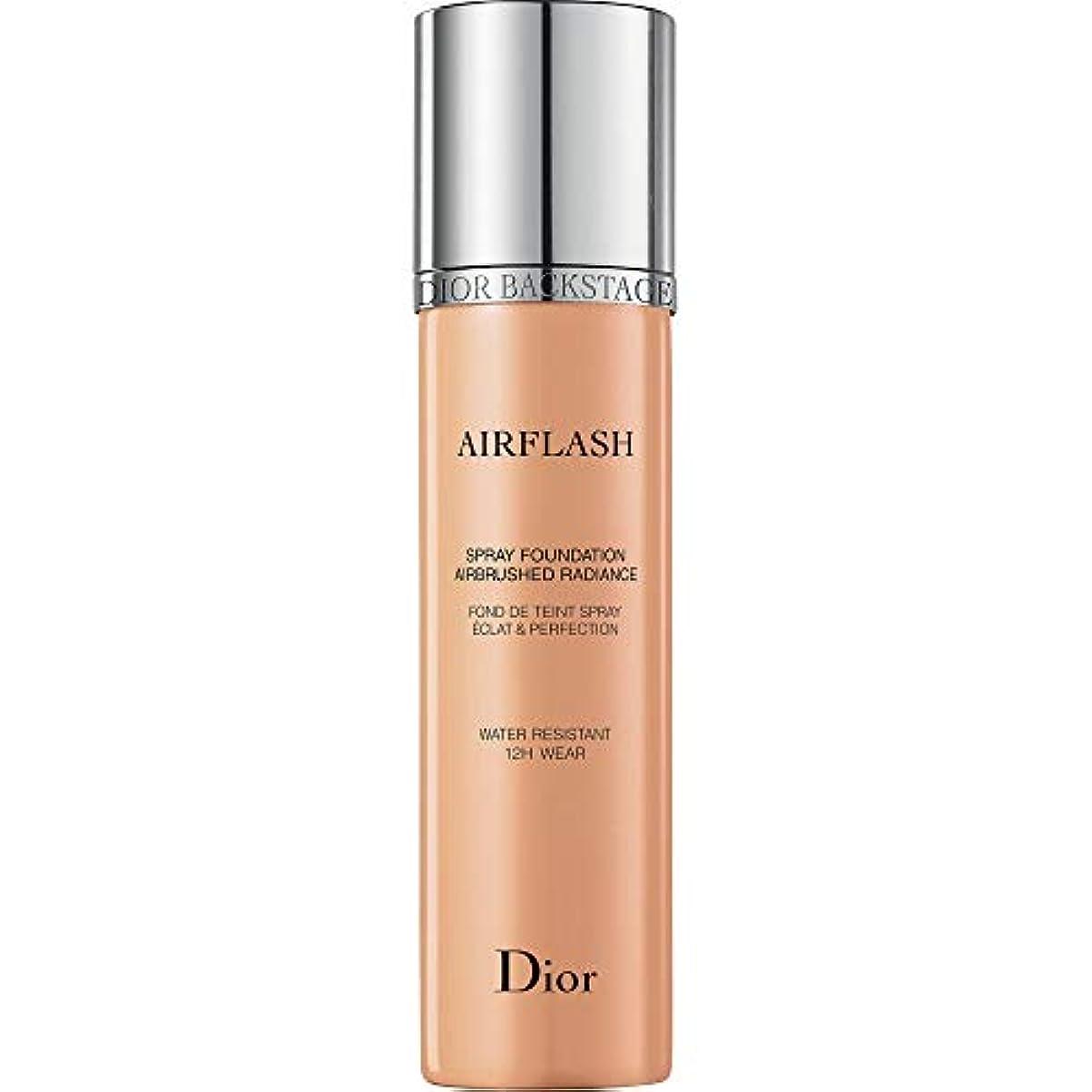 収入月曜蘇生する[Dior ] メディアベージュ - ディオールバックステージプロがスプレー基礎70ミリリットル300をAirflash - DIOR Backstage Pros Airflash Spray Foundation 70ml...