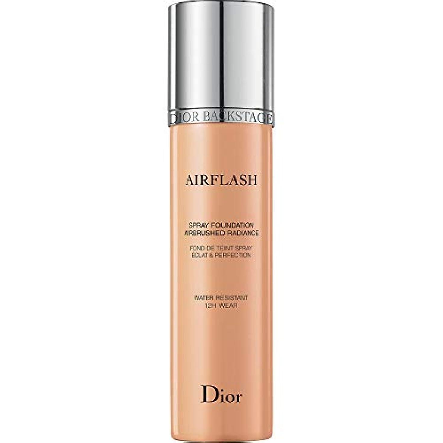 丘ピックタイピスト[Dior ] メディアベージュ - ディオールバックステージプロがスプレー基礎70ミリリットル300をAirflash - DIOR Backstage Pros Airflash Spray Foundation 70ml...