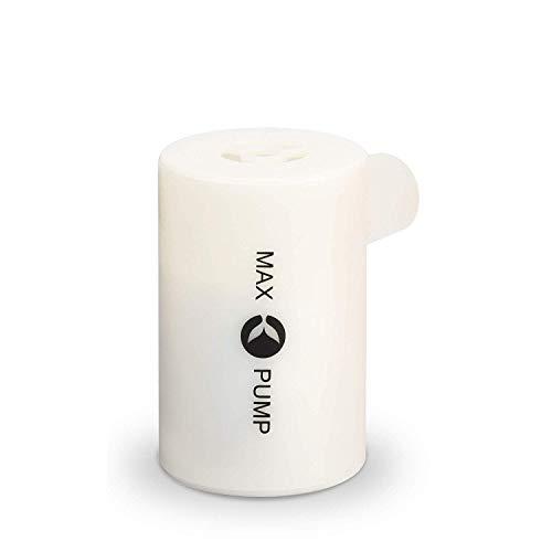 携帯用 電動ポンプ Max pump マックスポンプ 小型 ハイパワー [ホワイト] (日本正規販売店品)
