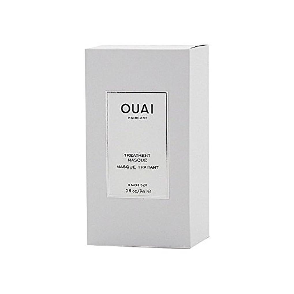 不道徳三角形Ouai Treatment Masque 8 X 9ml - トリートメントマスク8×9ミリリットル [並行輸入品]