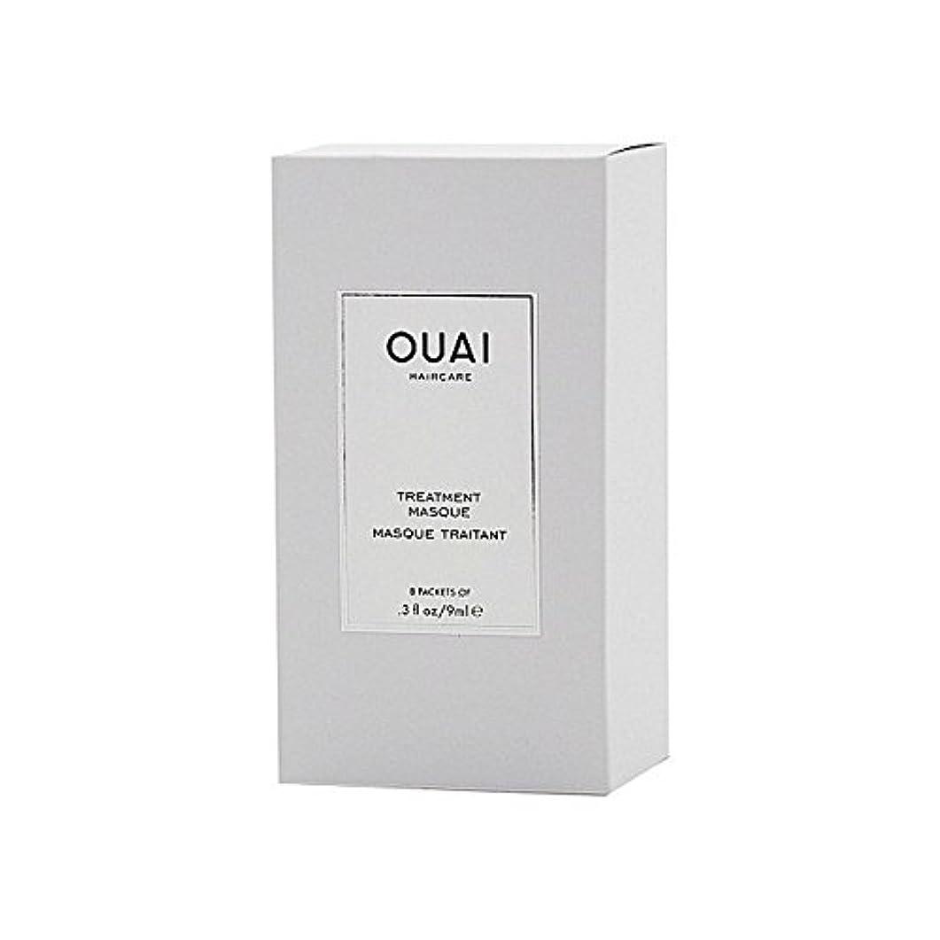 しないでくださいアコーいつかOuai Treatment Masque 8 X 9ml - トリートメントマスク8×9ミリリットル [並行輸入品]
