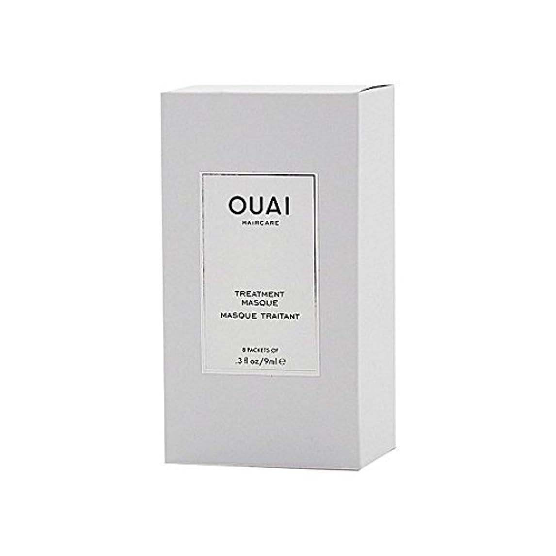 ガラガラためらう百年Ouai Treatment Masque 8 X 9ml - トリートメントマスク8×9ミリリットル [並行輸入品]