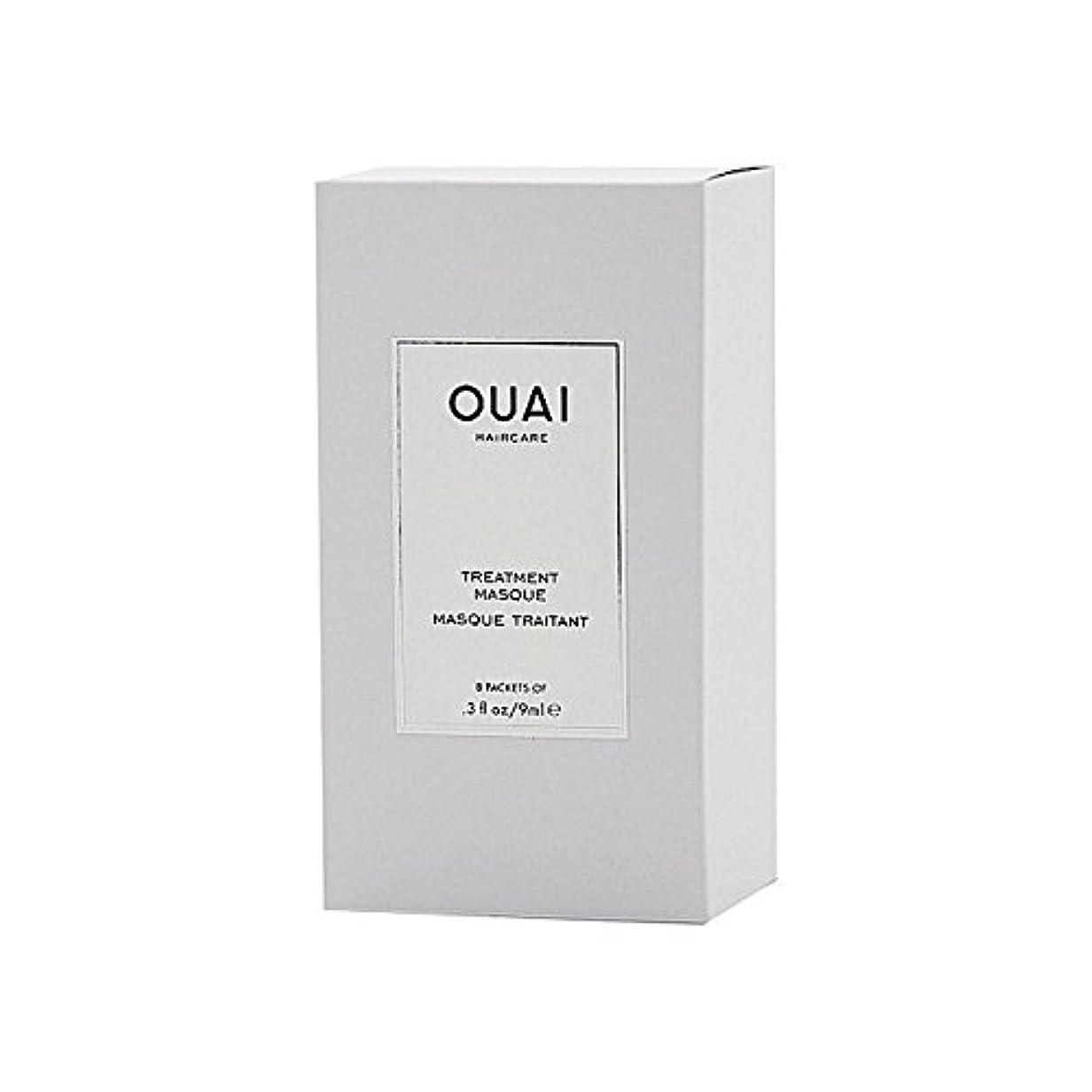 擬人バイオリニスト増幅器Ouai Treatment Masque 8 X 9ml - トリートメントマスク8×9ミリリットル [並行輸入品]