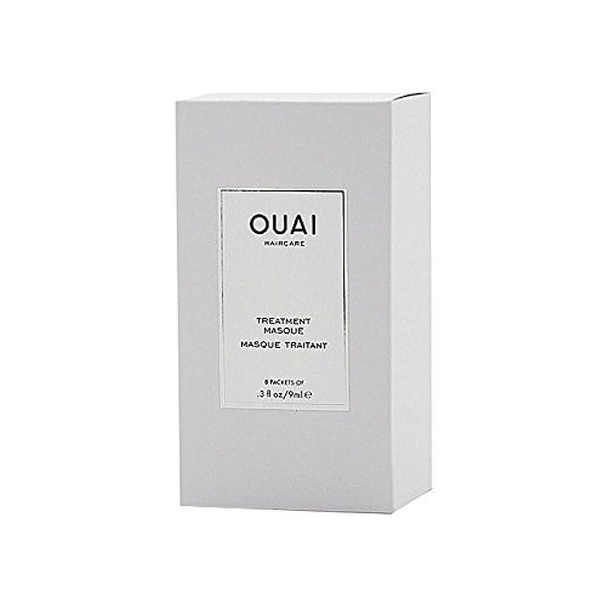 オーバーランマッシュきらめきOuai Treatment Masque 8 X 9ml - トリートメントマスク8×9ミリリットル [並行輸入品]