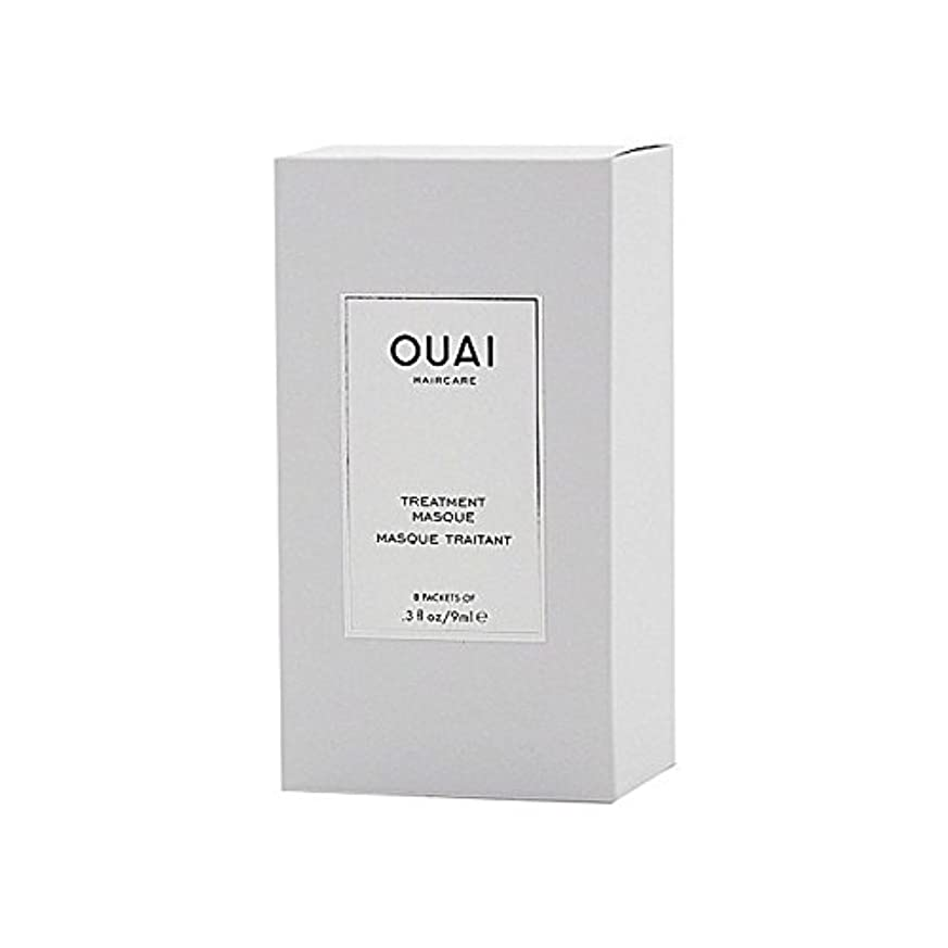 優遇ソーセージアクロバットOuai Treatment Masque 8 X 9ml - トリートメントマスク8×9ミリリットル [並行輸入品]