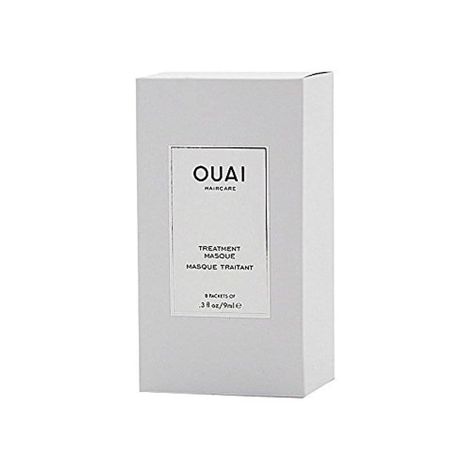 南アメリカレンダリング些細なOuai Treatment Masque 8 X 9ml - トリートメントマスク8×9ミリリットル [並行輸入品]