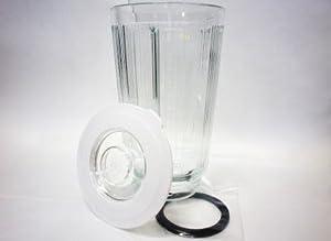 パナソニックPanasonicミキサーMX-152SP(151S・152S兼用)部品ガラス容器ふた付・パッキン付