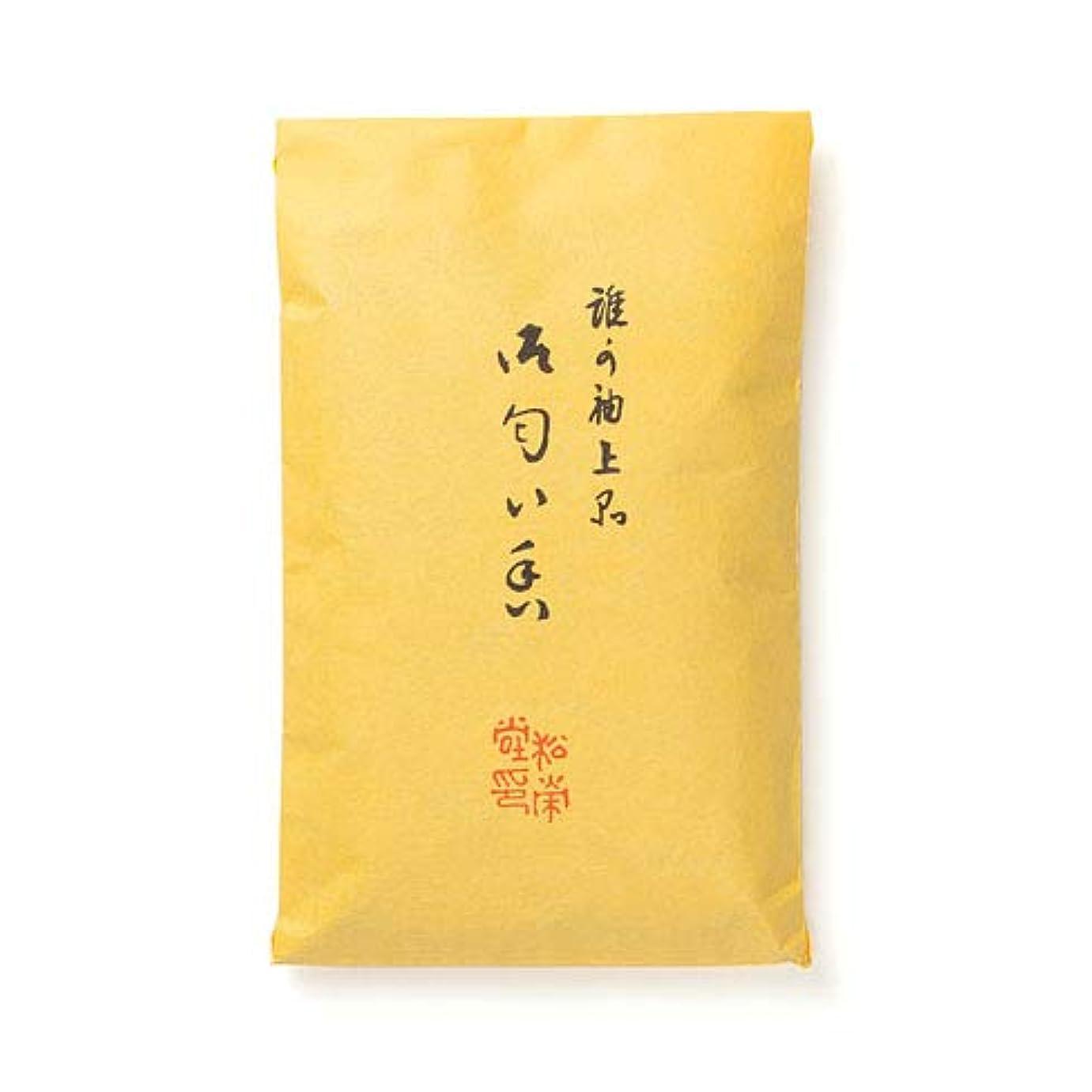 葉を拾うミシン目平野松栄堂 誰が袖 上品 匂い香 50g袋入